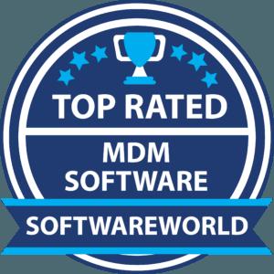 SoftwareWorld MDM software Badge